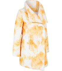 giacca trapuntata con grande collo a scialle (arancione) - bpc bonprix collection