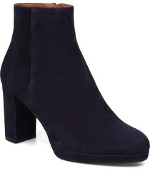 booties 3450 shoes boots ankle boots ankle boots with heel svart billi bi