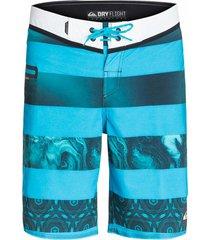 pantaloneta brigg 20 m hombre quiksilver aqybs03128bmj3 azul claro