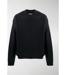 jil sander crew neck wool sweatshirt