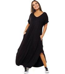 vestido negro vindaloo emma