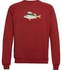 bait sweatshirt sweat-shirt tröja röd forét
