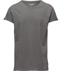 jimmy solid t-shirts short-sleeved grå resteröds
