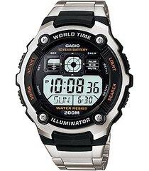 reloj casio para hombre ae-2000wd-1av digital con luz led