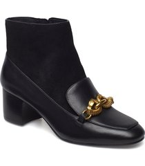 jessa 55mm bootie shoes boots ankle boots ankle boots with heel svart tory burch
