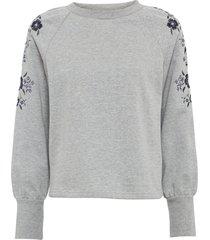 maglione ricamato (grigio) - bodyflirt