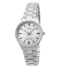reloj casio dama ltpv 005d-7a  calendario pulso en acero original