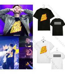 kpop bigbang g-dragon t-shirt made full 10th anniversary gd tshirt unisex tee