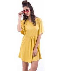 vestido amarillo we fly jilguero