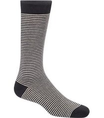 medias caña media con diseño de rayas bicolor para hombre 83925