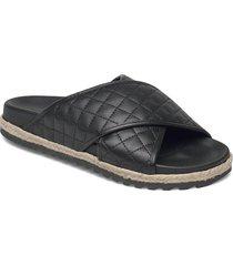 espadrilles 2652 sandaletter expadrilles låga svart billi bi