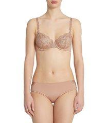 la perla women's beatrice medium brief - nude - size xs
