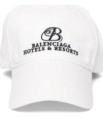 hotels and resorts logo baseball cap