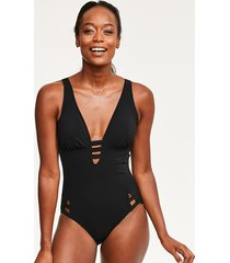 icon saint kitts cut out one-piece swimsuit