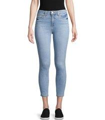 l'agence women's margot high-rise crop skinny jeans - cascade - size 24 (0)