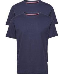 2p cn tee ss underwear t-shirts short-sleeved blå tommy hilfiger