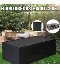 silla de tela oxford muebles a prueba de polvo de la cubierta para la tabla cubo sofá waterpr-- 325x208x58cm / 213 * 132 * 74cm - 325x208x58cm