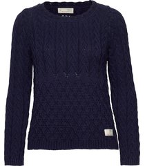 best day ever sweater gebreide trui blauw odd molly