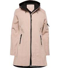 hip-length softshell raincoat outerwear rainwear rain coats rosa ilse jacobsen