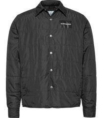 light weight shirt jacket negro calvin klein