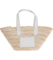 emporio armani straight to heaven beach bag