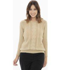 sweater camel etam elegance