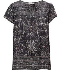 backb blouse blouses short-sleeved zwart odd molly