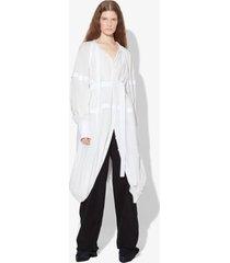 proenza schouler cotton voile puff sleeve dress white 6