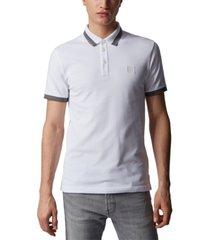 boss men's trans slim-fit polo shirt