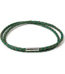 mens green wrap bracelet*