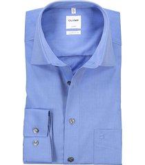 olymp luxor comfort fit overhemd lichtblauw