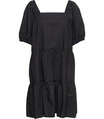 athena dress knälång klänning svart second female