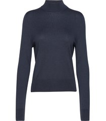 lynn silk mix sweater turtleneck coltrui blauw filippa k