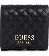 billetera brielle slg small trifold negro guess