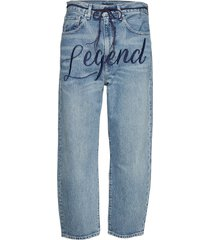 lmc barrel lmc legend boyfriend jeans blå levi's made & crafted
