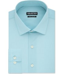 kenneth cole unlisted men's slim-fit solid dress shirt