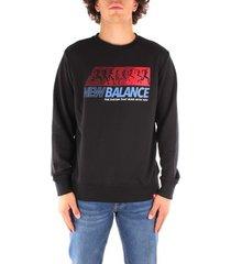 sweater new balance mt03509bk