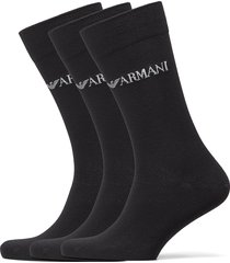socks underwear socks regular socks svart emporio armani
