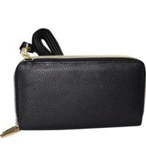 dopp women's mini ultimate double zip organizer wallet