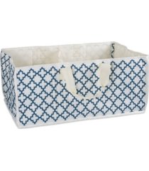 design imports polyester storage lattice rectangle all purpose