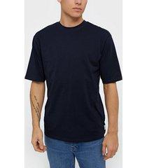 only & sons onsdonnie reg tee noos t-shirts & linnen mörk blå