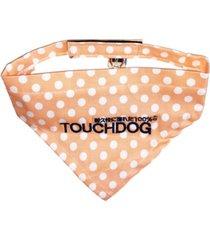 touchdog 'bad-to-the-bone' polka patterned fashionable stay-put bandana medium