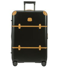 bric's bellagio 2.0 30-inch rolling spinner suitcase - black