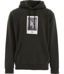 marcelo burlon rose square hoodie