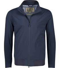 barbour leyburn jas waterdicht navy