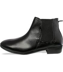botín chelsea new para hombre outfit negro