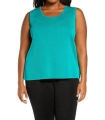 plus size women's ming wang sweater tank top