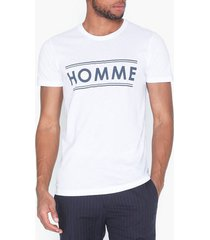 solid gara ss t-shirt t-shirts & linnen white