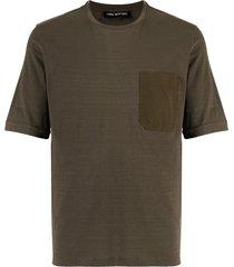 neil barrett travel chest pocket t-shirt - green