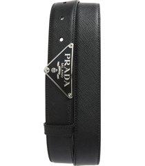 men's prada saffiano leather belt